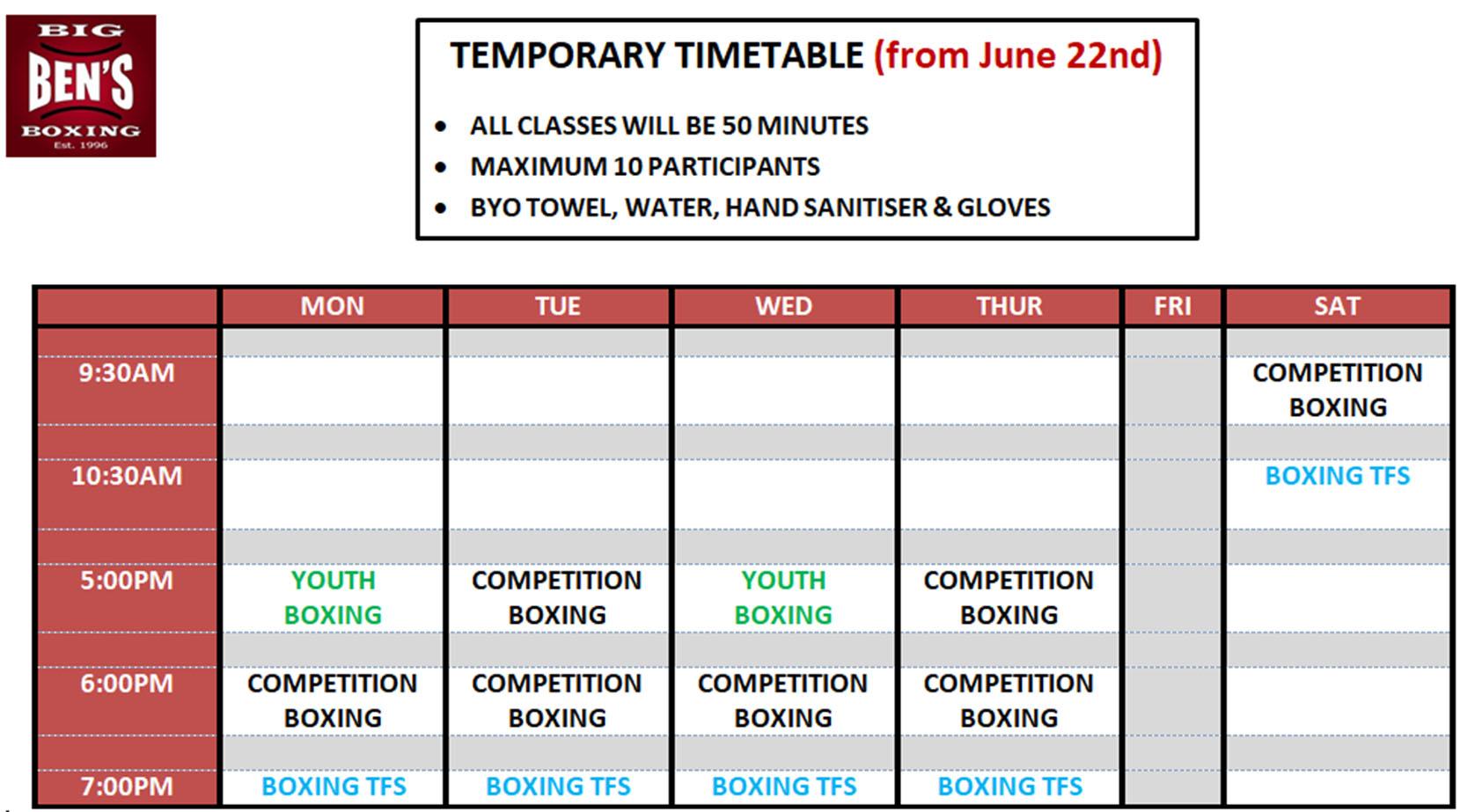 BigBenBoxing-Timetable-2019